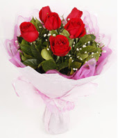 9 adet kaliteli görsel kirmizi gül  Bartın çiçek gönderme