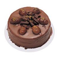 Kestaneli çikolatali yas pasta  Bartın çiçek , çiçekçi , çiçekçilik