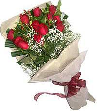 11 adet kirmizi güllerden özel buket  Bartın internetten çiçek siparişi