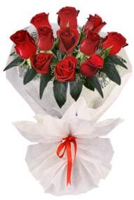 11 adet gül buketi  Bartın internetten çiçek siparişi  kirmizi gül