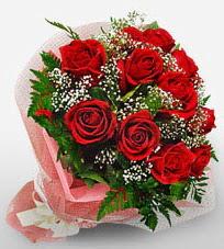 12 adet kırmızı güllerden kaliteli gül  Bartın çiçek siparişi vermek