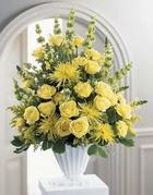 Bartın çiçek siparişi sitesi  sari güllerden sebboy tanzim çiçek siparisi