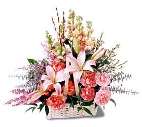 Bartın çiçek siparişi sitesi  mevsim çiçekleri sepeti özel tanzim