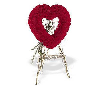 Bartın internetten çiçek satışı  karanfillerden kalp pano