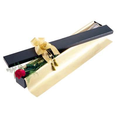 Bartın uluslararası çiçek gönderme  tek kutu gül özel kutu