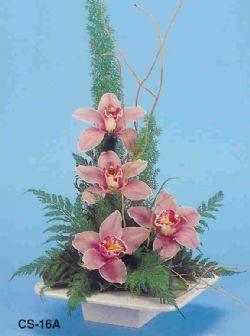 Bartın çiçekçi telefonları  vazoda 4 adet orkide
