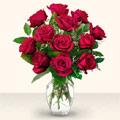 Bartın çiçek yolla  10 adet gül cam yada mika vazo da