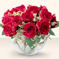 Bartın çiçek online çiçek siparişi  mika yada cam içerisinde 10 gül - sevenler için ideal seçim -