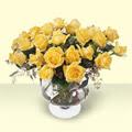 Bartın çiçekçi telefonları  11 adet sari gül cam yada mika vazo içinde