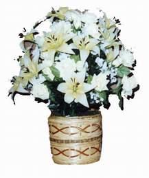 yapay karisik çiçek sepeti   Bartın çiçek mağazası , çiçekçi adresleri