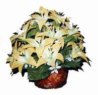 yapay karisik çiçek sepeti   Bartın çiçek siparişi sitesi