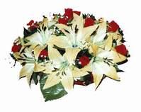 yapay karisik çiçek sepeti   Bartın internetten çiçek siparişi