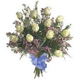 bir düzine beyaz gül buketi   Bartın çiçek gönderme sitemiz güvenlidir