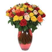 51 adet gül ve kaliteli vazo   Bartın çiçek gönderme sitemiz güvenlidir