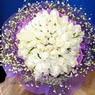 71 adet beyaz gül buketi   Bartın çiçek , çiçekçi , çiçekçilik