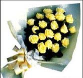 sari güllerden sade buket  Bartın çiçek , çiçekçi , çiçekçilik