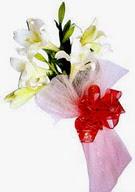 Bartın çiçek , çiçekçi , çiçekçilik  ince vazoda gerbera ve ayi