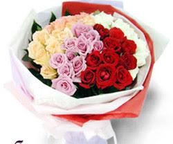 SEVENLERE ÖZEL 51 ADET GÜL  Bartın internetten çiçek satışı