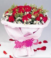 Bartın internetten çiçek satışı  12 ADET KIRMIZI GÜL BUKETI