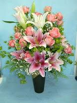 Bartın internetten çiçek satışı  cam vazo içerisinde 21 gül 1 kazablanka