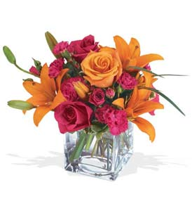 Bartın çiçek mağazası , çiçekçi adresleri  cam içerisinde kir çiçekleri demeti