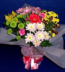 Bartın hediye çiçek yolla  küçük karisik mevsim demeti