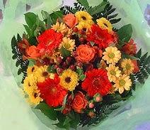 Bartın ucuz çiçek gönder  sade hos orta boy karisik demet çiçek