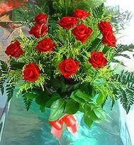 12 adet gül buketi  Bartın anneler günü çiçek yolla