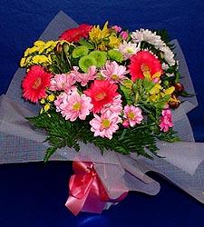 karisik sade mevsim demetligi   Bartın 14 şubat sevgililer günü çiçek