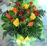 13 adet karisik gül buketi demeti   Bartın uluslararası çiçek gönderme
