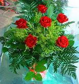 6 adet kirmizi gül buketi   Bartın online çiçek gönderme sipariş