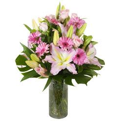 vazo içerisinde karisik mevsim çiçekleri  Bartın internetten çiçek siparişi