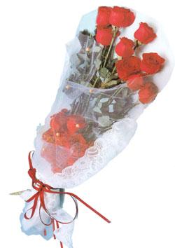 11 adet kirmizi güller buket tanzimi   Bartın çiçek siparişi sitesi