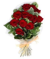 Bartın çiçek yolla , çiçek gönder , çiçekçi   9 lu kirmizi gül buketi.