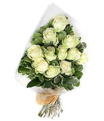 Bartın online çiçekçi , çiçek siparişi  12 li beyaz gül buketi.