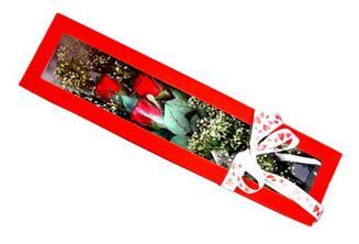 Bartın hediye çiçek yolla  Kutuda 3 adet gül
