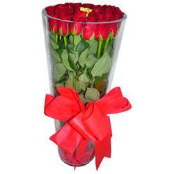 Bartın çiçek online çiçek siparişi  12 adet kirmizi gül cam yada mika vazo tanzim