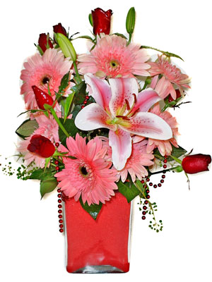 Bartın cicek , cicekci  karisik cam yada mika vazoda mevsim çiçekleri mevsim demeti