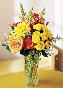 Bartın 14 şubat sevgililer günü çiçek  mika yada cam içerisinde karisik mevsim çiçekleri