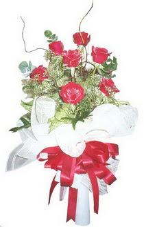 Bartın çiçek siparişi sitesi  7 adet kirmizi gül buketi