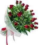 Bartın internetten çiçek satışı  11 adet kirmizi gül buketi sade ve hos sevenler