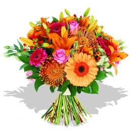 Bartın çiçekçi telefonları  Karisik kir çiçeklerinden görsel demet