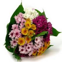 Bartın çiçekçi telefonları  Karisik kir çiçekleri demeti herkeze