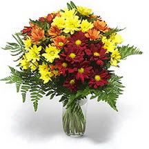 Bartın çiçek siparişi sitesi  Karisik çiçeklerden mevsim vazosu