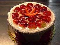 Meyvali yas pasta 4 ile 6 kisilik pasta  Bartın çiçek siparişi sitesi