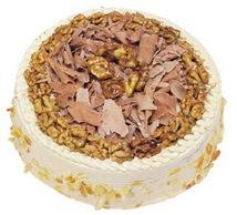 Karamelli 4 ile 6 kisilik yas pasta  Bartın çiçek yolla