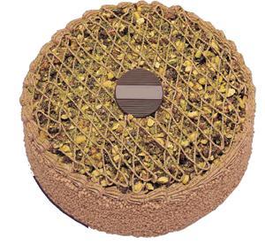 Krokanli 4 ile 6 kisilik yas pasta leziz  Bartın çiçek gönderme