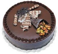 Çikolatali yas pasta 4 ile 6 kisilik  leziz  Bartın çiçek mağazası , çiçekçi adresleri