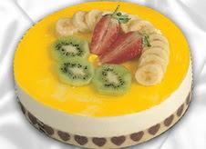 pasta gönderme 4 ile 6 kisilik yas pasta muzlu yaspasta  Bartın çiçek mağazası , çiçekçi adresleri