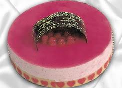 pasta siparisi 4 ile 6 kisilik yas pasta framboaz yaspasta  Bartın güvenli kaliteli hızlı çiçek